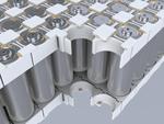 Batteriemodule mit zylindrischen Zellen werden mit dem Bayblend-Material von Covestro konstruiert und mit dem Loctite-Klebstoff von Henkel effizient zusammengebaut.