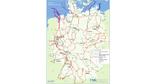 Aktuelle Karte der Höchstspannungsnetze