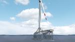 Kostengünstige Floating-Plattformen für Windparks