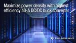 Leistungsdichte für FPGA- und Prozessor-Stromversorgungen