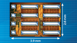 Monolithic GaN Half-Bridge with Driver for 80 V/12.5 A