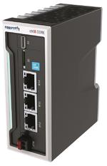 Die High-Performance CPU  ctrlX Core kann durchgängig im  Embedded Controller, in Industrie PCs oder direkt in den Antrieb.
