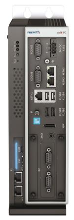 Die ctrlX Core CPU kann auch in den skalierbaren ctrlX IPC integriert werden.