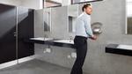 Berührungslos und hygienisch Hände waschen