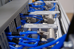 Alle Mess- und Sensordaten werden zusätzlich mittels OPCUA automatisiert auf die Industrie-4.0-Plattform 'Virtual Fort Knox' des FraunhoferIPA übertragen und dort für weiterführende Analysen verar-beitet.