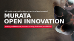 Murata startet eigene Website für Open Innovation