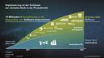 Nur ein Teil der Software- Akquisitionen  von Siemens  in diesem Jahrhundert.  Insgesamt  10 Mrd. Euro investierte  Siemens auf diese Weise in die Digitalisierung der Industrie.