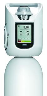 Innovatives Gasflaschensystem mit digitaler Anzeige und akustischem Signal