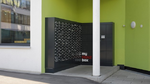 Paketbox mit digitaler Türkommunikation