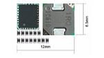 Bild 3. Eine diskrete Implementierung eines 6A-PoL-Wandlers mit notwendigen Peripheriekomponenten ohne Eingangs-/Ausgangskondensatoren.