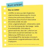 Kasten - Kurz erklärt - COPD