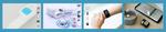 Formfaktoren der Prototypen für das Atemmonitoring von COPD-Patienten