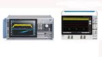 Durch den aufgelösten Exklusivvertrag mit Keysight sind unter anderem neu im Sortiment: links der Signal- und Spektrumanalysator der Serie FSVA30xx von Rohde & Schwarz mit Bandbreiten ab 10 Hz bis 44 GHz und rechts das Mixed-Signal-Oszilloskop der Se