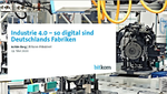Deutsche Industrie bei Digitalisierung international vorne