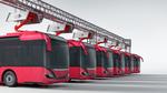 Einfacheres Laden von E-Nutzfahrzeugen über Pantographen
