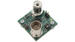 Die mit dem ADuCM355 aufgebaute Platine zur Messung des pH-Wertes verfügt über BNC- und RCA-Steckverbinder zum Anschluss der pH-Sonde und des Temperatursensors.