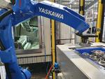 In den Werkstückträgern werden acht Bauteile  über werkstückspezifische Aufnahmen bevorratet und sicher positioniert bereitgestellt.