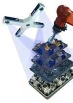 Die Multistereo-Quad-Kamera-Technologie erfasst das  gesamte Volumen jedes  Behälters restlos.