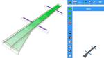 Aus der Punktewolke (grün) wird das 3D-Modell des Bauteils berechnet. Das 'Instant Robot Programming System' – kurz IRPS – erkennt auch Vorrichtungen (lila) und lässt diese bei der Berechnung der Schweißnähte aus.