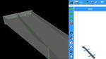 Das erzeugte 3DModell lässt sich frei im Raum bewegen. Die von IRPS vorgeschlagenen Schweißnähte sind bereits positioniert (grün).