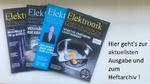 Die E-Paper-Ausgaben der Elektronik