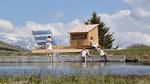 Erste Solarsauna in den Schweizer Alpen