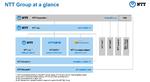 NTT Unternehmenshierarchie, Stand August 2020