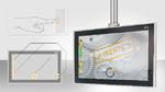 Kapazitive Schalter und Tasten als Teil von Touchscreens