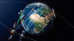 Das EDRS-System der ESA nutzt geostationäre Satelliten als Relaisstationen, die Daten von Erdfernerkundungssatelliten per Laser empfangen und per Funk zur Bodenstation übertragen.