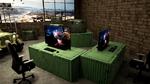 Während Besucher in der Gaming Zone in eine ideale Spieleumgebung eintauchen können…