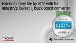 DC/DC-Buck-Boost-Wandler verlängert die Batterielebensdauer