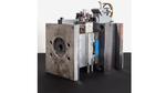 Das Team des Fraunhofer IPK entwickelte dieses Spritzgusswerkzeug zur Replikation von Musterbauteilen aus Polyhydroxybuttersäure.