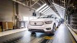 Erster Volvo XC40 Recharge vom Band gelaufen