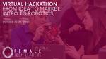 Virtueller Robotik-Hackathon für Studentinnen