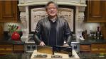 Solange die Covid-19-Pandemie die Welt im Griff hat, sendet Nvidia-CEO Jensen Huang seine GTC-Keynote aus seiner privaten Küche.