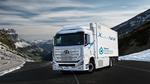 Hyundai liefert erste Xcient Fuel Cell Brennstoffzellen-Lkw aus