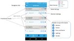 Über die BlueNRG-App für Android lassen sich Knoten einbinden und ihre Daten anzeigen