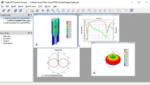 Der Clarity 3D Transient Solver kann schnell und genau große Simulationen durchführen, beispielsweise beim Design von kritischen Verbindungen auf Baugruppen, IC-Gehäusen und SoIC-Designs (System on IC) innerhalb eines mechanischen Gehäuses.