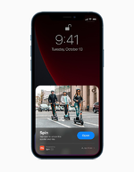 Apple iPhone 12 Lockscreen
