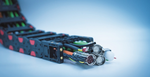 Über eine Vielzahl von Parametern – etwa Leiterauswahl, Kabelaufbau und Verseilung, Schirmung, Isolations- und Mantelwerkstoffe – können Konstrukteure die Fitness ihrer Kabel präzise beeinflussen. Häufig gibt es die Spezialleitungen als Plug&Play-Ko