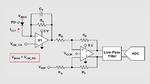 Analoge Eingangsstufe zur Verstärkung der Signale einer Photodiode mit negativer Vorspannung an der Anode