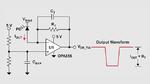 Beschaltung des Transimpedanzverstärkers (TIA) mit Vorspannung an der Katode der Photodiode