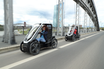 Das Pedelec Bio-Hybrid wird aus einer Kombination von Muskelkraft und Elektromotor angetrieben und darf führerscheinfrei auf Radwegen betrieben werden.