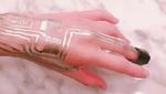 Wearable-Sensoren direkt auf die Haut sintern