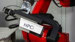 Fügewerkzeug (HPCi) zum thermischen Direktfügen mit einem Industrieroboter.