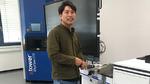 Takuya Sakagami, Technischer Berater bei Fuji Europe in Kelsterbach