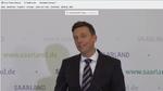 Tobias Hans, Ministerpräsident des Saarlands: »Das Auto ist im Saarland eine der zentralen Stützen des Industriestandortes. Für uns geht es darum, eine Führungsrolle bei der Entwicklung umweltverträglicher Fahrzeuge der Zukunft zu spielen.«