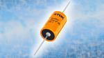 TDK Electronics: Axiale Hybrid-Polymer-Aluminium-Elektrolyt-Kondensatoren  TDK Electronics hat ihr Spektrum an Hybrid-Polymer-Aluminium-Elektrolyt-Kondensatoren erweitert und bietet nun zwei Serien in axialem Design an. Die Serie B40600* / B40700* ei