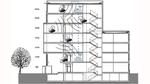 Für die Reichweitenmessung unter realen Bedingungen in einem Bürogebäude wurde ermittelt, über wieviel Stockwerke per IP500-Funknetzwerk kommuniziert werden kann, wenn auch andere Funknetze (Wi-Fi) im Gebäude aktiv sind