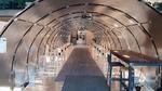 Vorbild Flugzeug: Der von Umlaut gewählte Testaufbau ist einem Passagierflugzeug nachempfunden, in dem 40 Smartphones Sprachdaten per Bluetooth und Wi-Fi zu einem Router übertragen